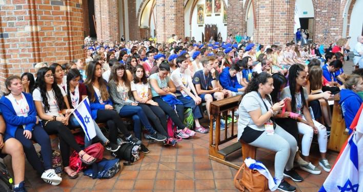 ŚDM - młodzi pielgrzymi w Szczecinie