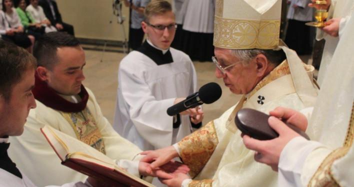 Święcenia kapłańskie w szczecińskim seminarium